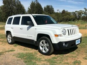 2014 Jeep Patriot MK MY14 Limited (4x4) White 6 Speed Automatic Wagon Fyshwick South Canberra Preview