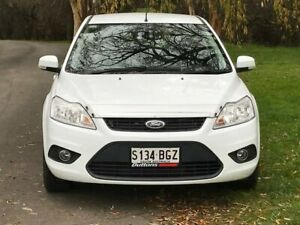 2010 Ford Focus LV LX White 4 Speed Sports Automatic Hatchback Littlehampton Mount Barker Area Preview