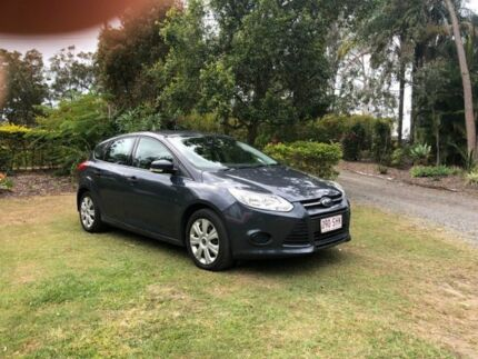 2012 Ford Focus LW Ambiente Silver 5 Speed Manual Hatchback Capalaba Brisbane South East Preview