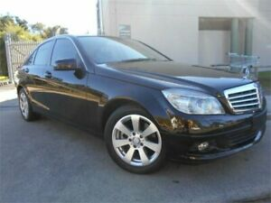 2009 Mercedes-Benz C200 Kompressor W204 Classic Black 5 Speed Sports Automatic Sedan Southport Gold Coast City Preview