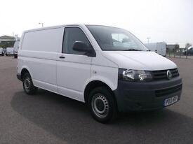 Volkswagen Transporter T28 SWB 2.0 TDI 102PS VAN DIESEL MANUAL WHITE (2013)