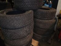 ASSORTED SIZES OF TIRES FOR SALE