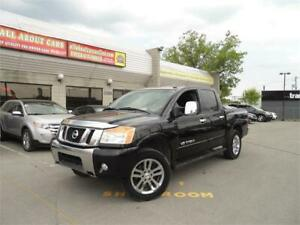 2011 NISSAN TITAN SL 4X4 5.6L V8  **NAVI + LEATHER**