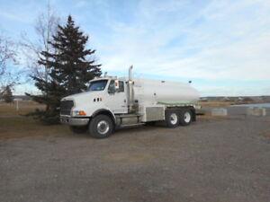 2007 Sterling water truck with 16000 liter Jasper Tank