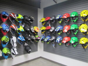 All Helmets and Googles are priced to sell, helmets $50 off!