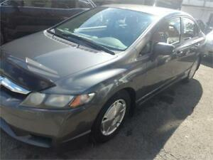 HONDA CIVIC 2009,AIR CLIM,4 CYL, CRUIS  171000KM ******5299***