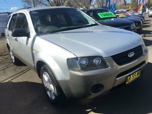 2007 Ford Territory SY MY07 Upgrade TX (RWD) Silver 4 Speed Auto Seq Sportshift Wagon Campbelltown Campbelltown Area Preview