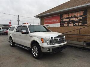 2010 Ford F-150**** Lariat***4X4***TOPPER***LEATHER**FULLY LOAD*