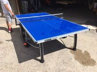 Cornilleau 400M Outdoor Table Tennis Table - Dent to Frame but as-new condition