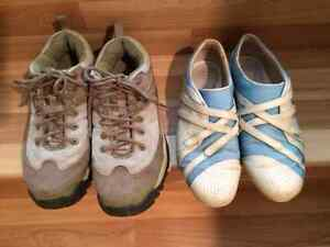 Columbia Hiking Shoes / Boots & Lacoste shoes