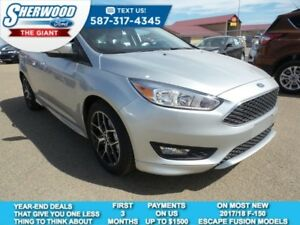 2017 Ford Focus SE w/ Heated Front Seats, Heated Steering Wheel