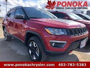 2018 Jeep Compass Trailhawk, Satellite Radio, Heated Steering Wh