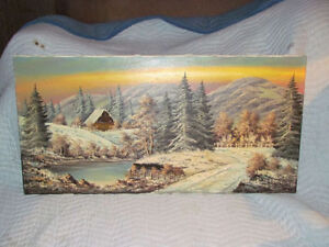 collectable painting,great investment $750=50% market value!!!
