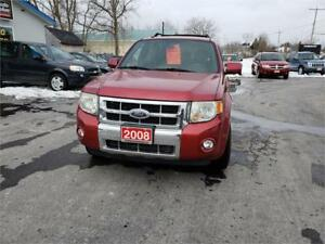 2008 Ford Escape Limited 4x4 SAFETIED LEATHER