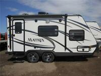 2016 Gulfstream 7' Wide Matrix Travel Trailer 718FB