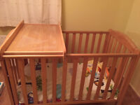 Mothercare Takeley Cot with top changer and mattress