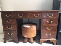 Traditional period antique desk