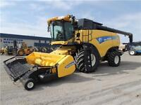 2012 New Holland CX8080 Super Conventional Combine - Low Hours