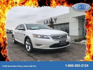 2010 Ford Taurus Sho, Moonroof, Local Trade, Leather/Suede!!
