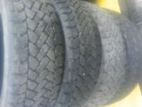 195/65R15 Snow Tracker by Pacemark winter used tires set