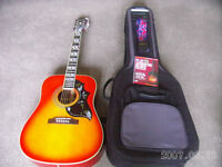 Gibson Epiphone Hummingbird Pro Plus Extras EXCELLENT CONDITION