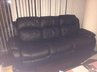 Reclining Sofa - Good Condition (Downtown Toronto)