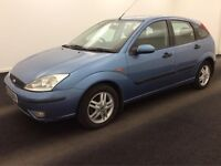 2002 FORD FOCUS 1.6 AUTOMATIC ZEETEC-FULL SERVICE HISTORY