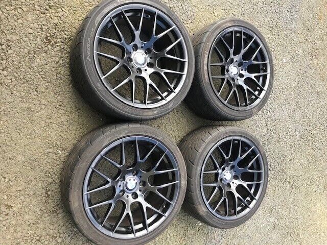 Bmw Fitment 18 Inch Csl Style Alloy Wheels Amp Tyres In