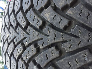205/55 R 16 Studded winter tires for sell
