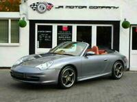 2003 Porsche 911 996 3.6 Carrera 2 Tiptronic S Cabriolet Seal Grey Huge Spec!