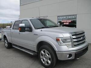 FORD F150 LARIAT ECOBOOST CREW 4X4 CUIR TOIT NAVY+++