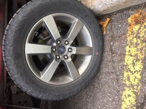 Tires and Rims 275/55/20 revised price 2000$