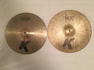 "Zildjian K Custom Dark 14"" Hit-hats Maroochydore Maroochydore Area Preview"