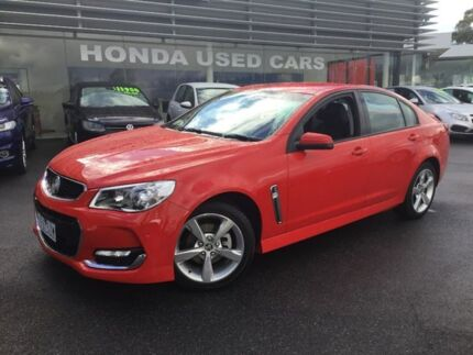 2015 Holden Commodore Red Sports Automatic Sedan Traralgon Latrobe Valley Preview
