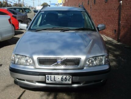 1999 Volvo V40 MY00 T4 SE Silent Silver 4 Speed Automatic Wagon
