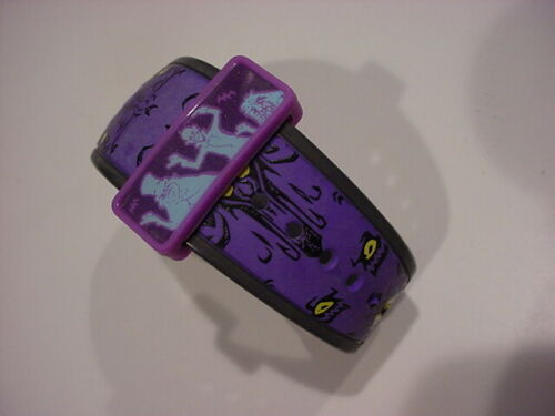 rare Limited Release HAUNTED MANSION MagicBand Purple Wallpaper w/3 GHOSTS KEEPR