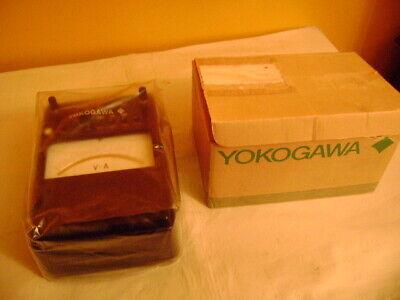 Yokogawa 201200 Portable Dc Ammeter Voltmeter Test Equipment Educational Lab
