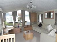 STUNNING STATIC CARAVAN FOR SALE WHITLEY BAY HOLIDAY PARK SITE FEES INCLUDED UNTIL 2019