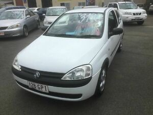 2002 Holden Barina XC Equipe White 4 Speed Automatic Hatchback Coopers Plains Brisbane South West Preview
