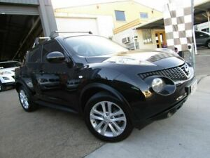 2013 Nissan Juke F15 MY14 ST 2WD Black 1 Speed Constant Variable Hatchback Moorooka Brisbane South West Preview