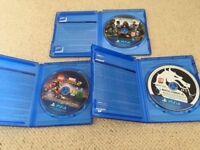 PS4 Mortal Kombat XL Lego Marvel Super Heroes 2 Assassins Creed