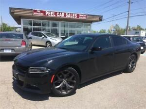 2017 Dodge Charger SXT|NAVI|SUNROOF|BACKUP CAMERA| BLK ON BLK|