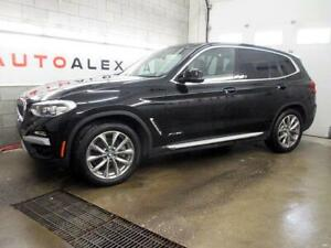 2018 BMW X3 xDrive30i NAVIGATION TOIT PANOR. MAGS 19 CAMERA