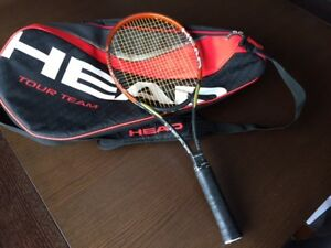 Raquette de tennis et sac HEAD