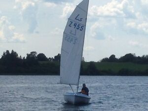 Lis-Jolle 5m Sailboat Very Similar to a Soling