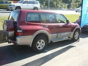 2001 Mitsubishi Pajero NM GLS Red 4 Speed Automatic Wagon Caboolture Caboolture Area Preview