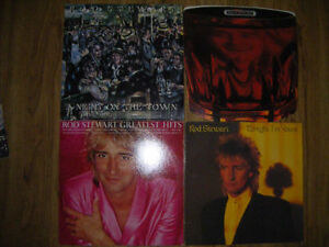 4 Rod Stewart records for sale