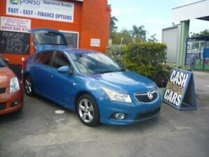 2011 Holden Cruze JH MY12 SRi Blue 6 Speed Automatic Hatchback Caboolture Caboolture Area Preview