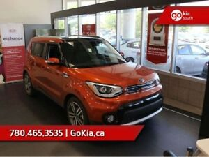 2018 Kia Soul EX TECH; ADAPTIVE CRUISE, NAV, PANO ROOF, LEATHER,