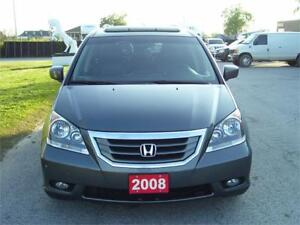 2008 Honda Odyssey EX-L TOURING PACKAGE.